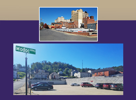 """Newly Renovated Parking Facility"" Clarksburg, West Virginia S 2nd Street & Washington Avenue"