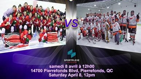 Olymbec Flyers VS Équipe Nationale Féminine !