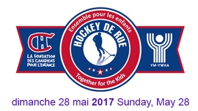 Proud Sponsor, Hockey De Rue 2017